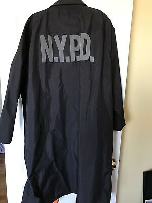 Police/Security Reversible Rain Coat