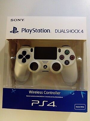 Sony Official PlayStation 4 Dualshock 4™ Controller V2 White New & Sealed