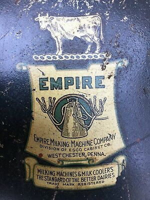 Rare Empire Milking Machine Co West Chester Pa Milking Stool