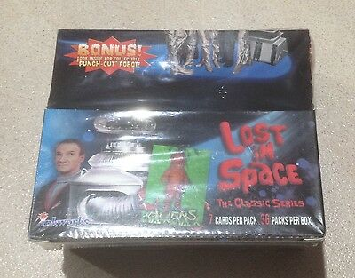 1997 Inkworks Lost In Space: The Classic Series - Factory Sealed Box of 36 Packs