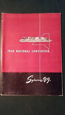 1950 National Holstein-Friesian Convention Souvenier Book - Syracuse New York