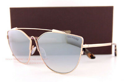 bff0ccecfea5 Brand New Tom Ford Sunglasses Jacquelyn-02 563/S 28C Gold/Silver Mirror