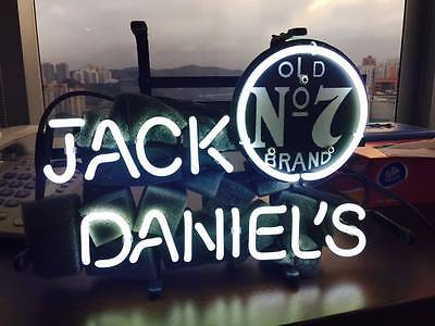 """Jack Daniel's Neon Sign Light Beer Bar Pub Wall Poster Home And Room Decor13""""x7"""""""