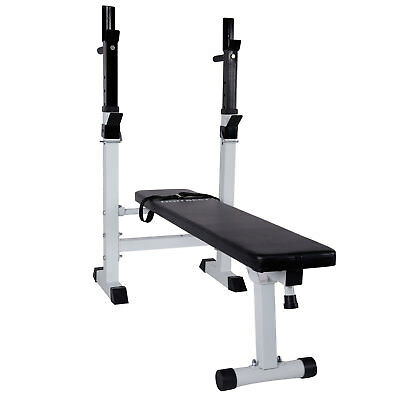 CCLIFE Multifunctional Weight Bench   Workout Bench, Bar Support And Dip  Station
