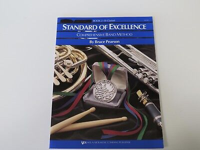 Standard Of Excellence Book 2 Clarinet By Bruce Pearson