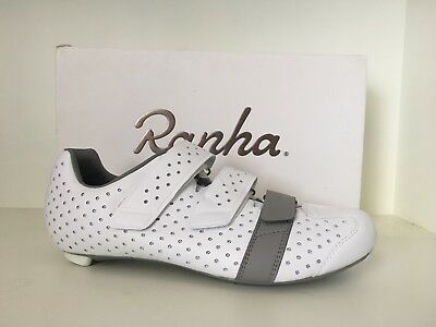 Rapha Climber's Shoe - Size 43 - White/Grey - Brand New