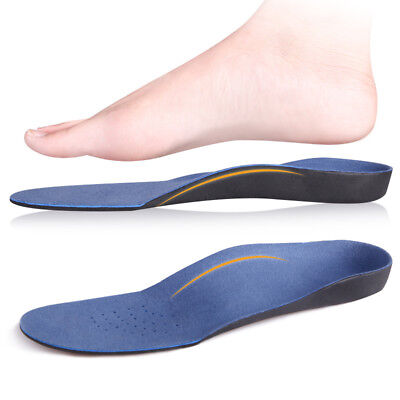 1Pair Flat Feet Gel Orthotic Support Comfort Pad Cushion Insoles Inserts Sole