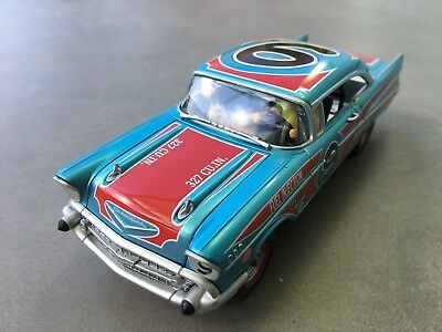 "Carrera Digital 132 30759 Chevrolet Bel Air '57 ""Oval Racer"" Karosse+Chassis NEU"