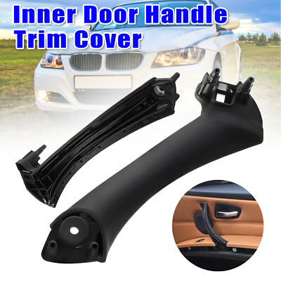 Right Inner Door Panel Handle Pull Outer Trim Cover For BMW E90 3-Series Sedan