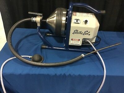 """Electric Eel CT Drain Cleaner 5/16"""" x 35' Plumbing Sewer Snake Cleaning Unclog"""