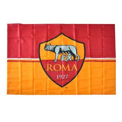 BANDIERA AS ROMA UFFICIALE MAGICA grande cm.100x140 FLAG OFFICIAL