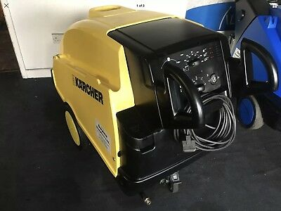 Karcher Hds 745 Eco Hot Cold Pressure Washer Steam Cleaner Car Jet Truck Wash