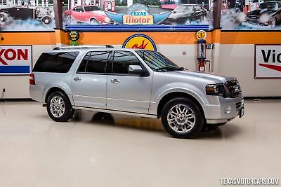 2013 Ford Expedition Limited 2013 Silver Limited!