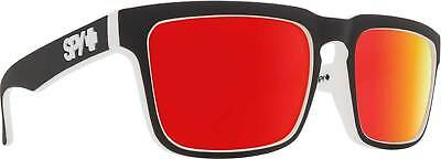 5594006d62 SPY HELM SUNGLASSES-WHITEWALL-GRAY Green Red Spectra Unisex ...