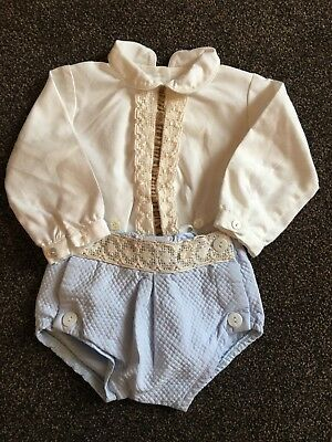 3m Baby Boys Spanish Outfit Set Clothes