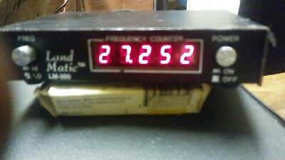 landmatic lm-300 frequency counter