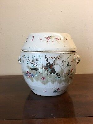 A Beautiful Chinese Jar with Butterfly and Birds