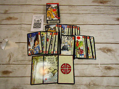Feng Shui Tarot Card Set 1979 Complete With Booklet in Original Box