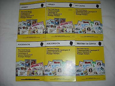 Joblot: The Urch Harris Commonwealth Catalogue of QE2 Postage Stamps