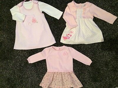 baby girl dress bundle 3-6 months Incl Baby M&co