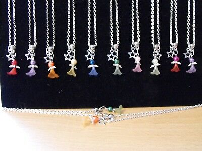 Wholesale Jewellery Joblot 12 Necklaces, Angel/fairy Pendant,gift,party Bags