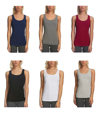 Felina Ladies' 3 pack Layering Tank Top for Women Various Sizes and Colors
