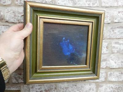vintage old painting oil ABSTRACT framed
