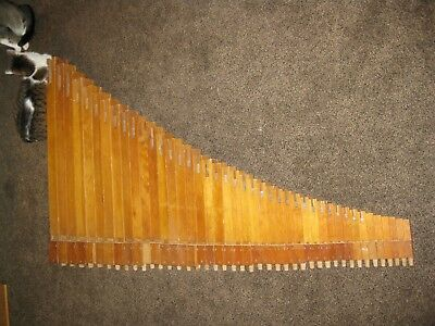 Complete Set, 42 Pieces, Wurlitzer Open Flutes,