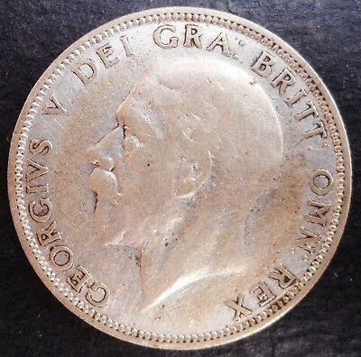 1929 Great Britain Florin , nice silver coin             571