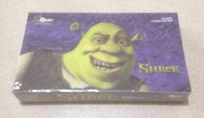 2001 Dart Flipcards Shrek - Factory Sealed Box of 30 Packs