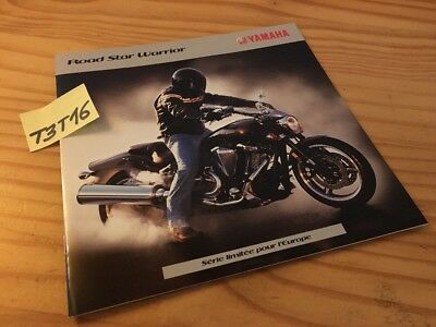 Yamaha custom Road Star Warrior série limitée moto prospectus catalogue prospekt