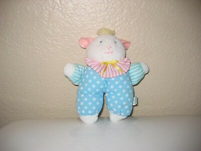 Easter Bunny Cloth Rattle