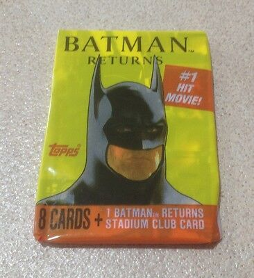 1992 Topps Batman Returns (Movie) - Wax Pack (Souvenir Magazine Variation)