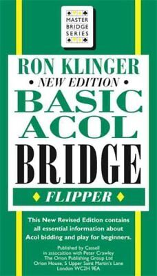 Basic Acol Bridge Flipper by Ron Klinger 9780304362790 (Paperback, 2001)