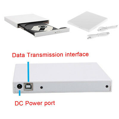 External DVD Drive LG USB DVD CD RW Burner Laptop Potable Optical Player Writer