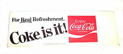 Vintage Coca Cola Coke Soda Fountain Jerk Paper Hat NOS Can Sign Bottle 7up Ofr