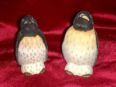 G. Debrekht Noah's Ark PENGUINS Set of 2 # 52726 Russia Mint