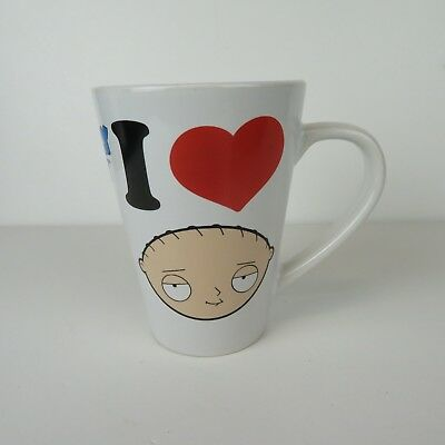 Family Guy - I Heart Love Stewie Griffin - Ceramic Coffee Mug Cup