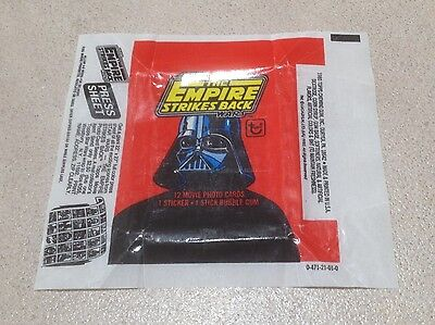 1980 Topps The Empire Strikes Back Series 1 - Wax Pack Wrapper (Press Sheet)