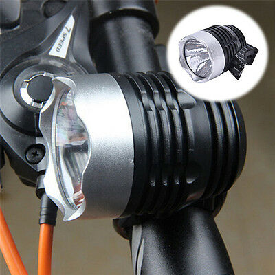1pcs LED Battery Operated Bycicle Front Light Headlamp Headlight Bike Lamp Torch