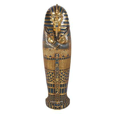 Boy King Tut Tutankhaten Tutankhamen Egyptian Sarcophagus Wall Hanging Art Decor