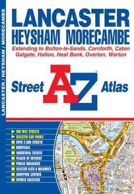 Lancaster Street Atlas by Geographers' A-Z Map Company 9781843488286