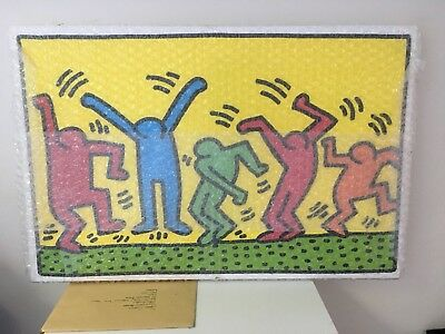 Keith Haring Box Canvas Print New Sealed Unwanted Gift Large (24in X 36in)