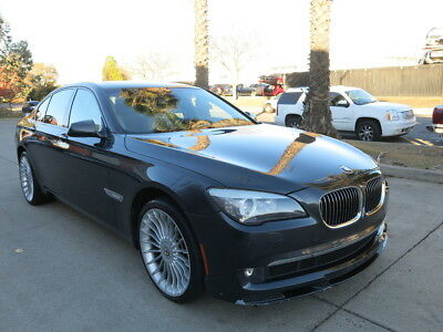 2012 BMW 7-Series Alpina B7 2012 BMW Alpina B7 750 flood rebuildable salvage Low Reserve 12