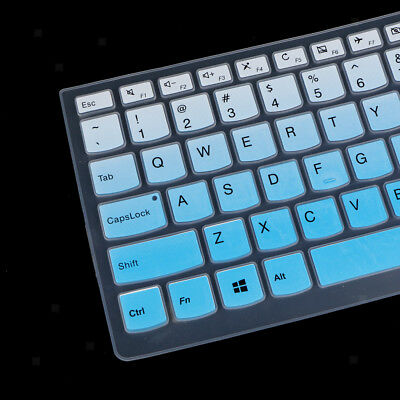 Keyboard Cover Silicone Skin Protector for Lenovo 510S Laptop Notebook #8