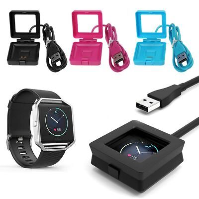 USB Charging Cable Lead Dock for Fitbit BLAZE Smart Fitness Watch -Blaze Charger