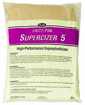 Concrete Superplasticizer Supercizers Blend Smooth Plasticizer Water Soluble Bag