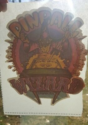 PINBALL WIZARD 1974 IRON ON TRANSFER T-SHIRT DECAL by ROACH STUDIOS UNUSED 70's