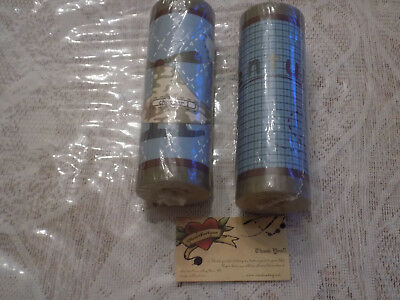 Cocalo Wall Paper Border Lil Aviator 2-30' Rolls Total 60 Ft Planes Camo Blue
