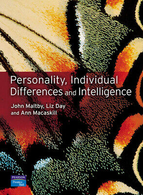Introduction personality, individual differences and intelligence by John
